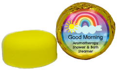 Good Morning Aromatherapy Shower & Bath Steamer VEGAN